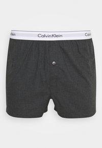 Calvin Klein Underwear - SLIM 2 PACK - Boxer shorts - grey - 2