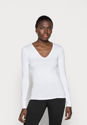 VANNA - Long sleeved top - optical white