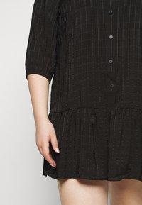 ONLY Carmakoma - CARPIERRA TUNIC DRESS - Day dress - black - 5