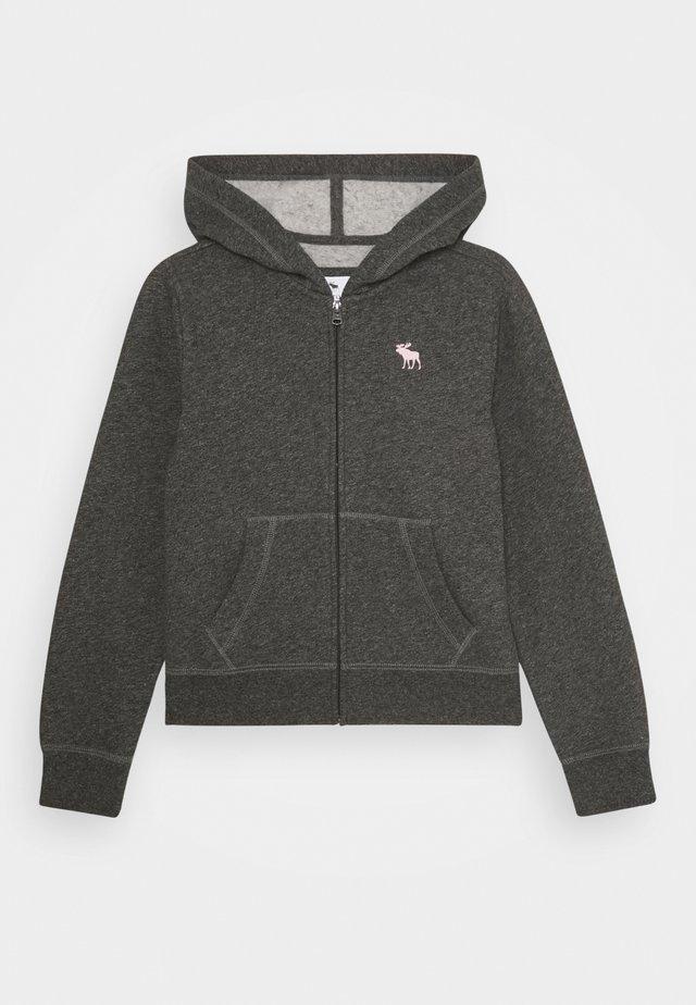 CORE - Zip-up hoodie - heather grey