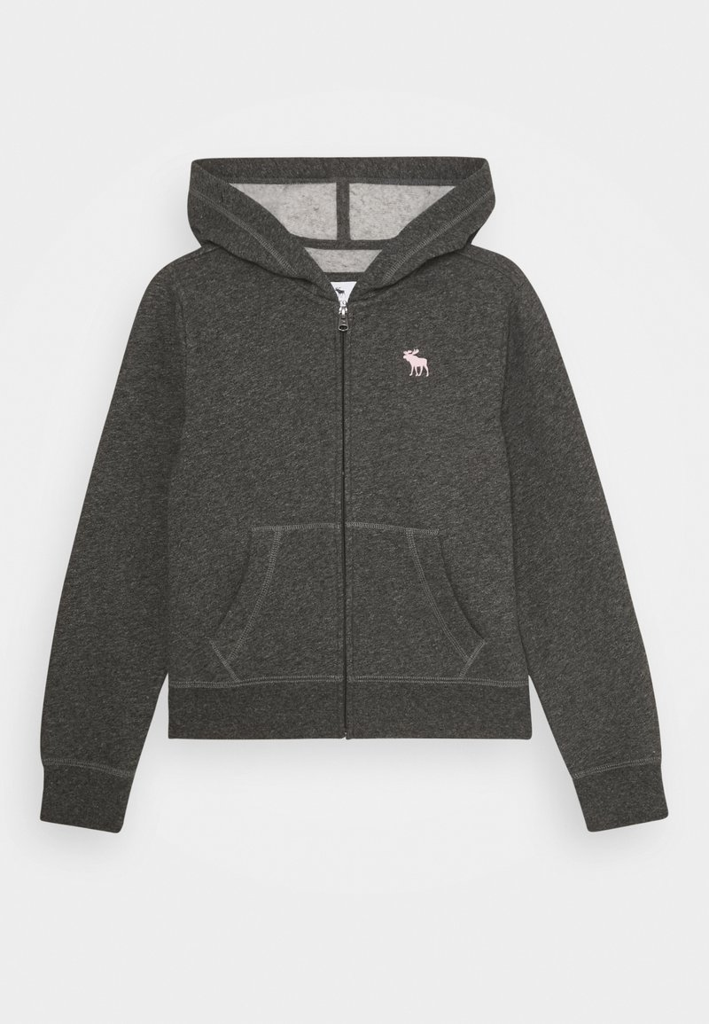 Abercrombie & Fitch - CORE - Hoodie met rits - heather grey