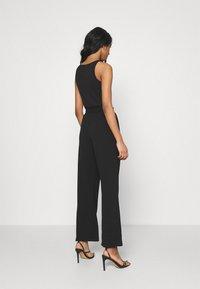 Miss Selfridge - SMART WIDE LEG - Kalhoty - black - 2