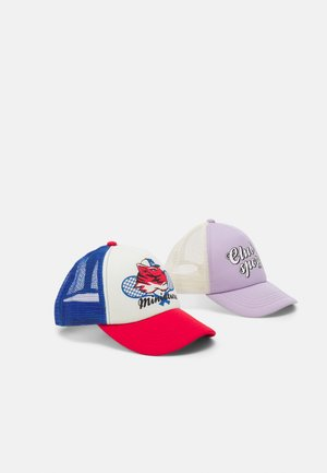 MINI TRUCKER 2 PACK UNISEX - Cap - red/violet
