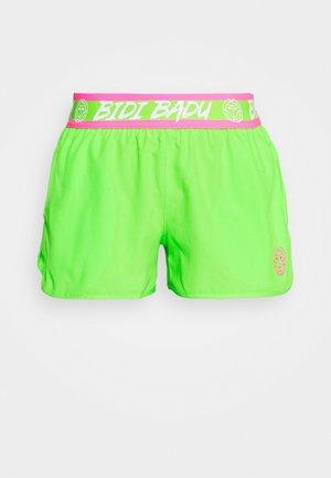 TIIDA TECH SHORTS - Sportovní kraťasy - neon green/pink