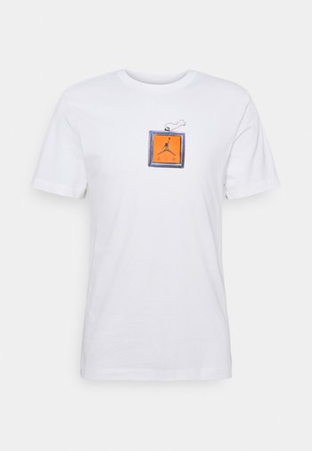 KEYCHAIN CREW - T-shirt imprimé - white