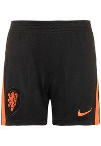 Nike Performance - NIEDERLANDE SET - Sportovní kraťasy - black/safety orange - 2