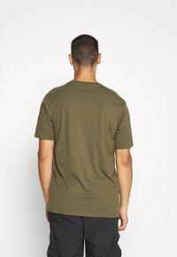 Weekday - FRANK - T-shirt - bas - khaki green - 2