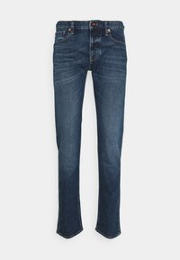 Emporio Armani - POCKETS PANT - Jeans Tapered Fit - blue denim - 6