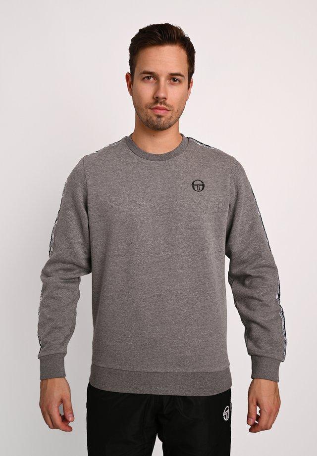 BUTCH CREW  - Sweatshirt - dgreym/blk