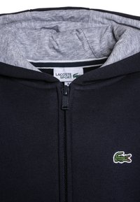 Lacoste Sport - TENNIS - Zip-up hoodie - navy blue/silver chine - 2