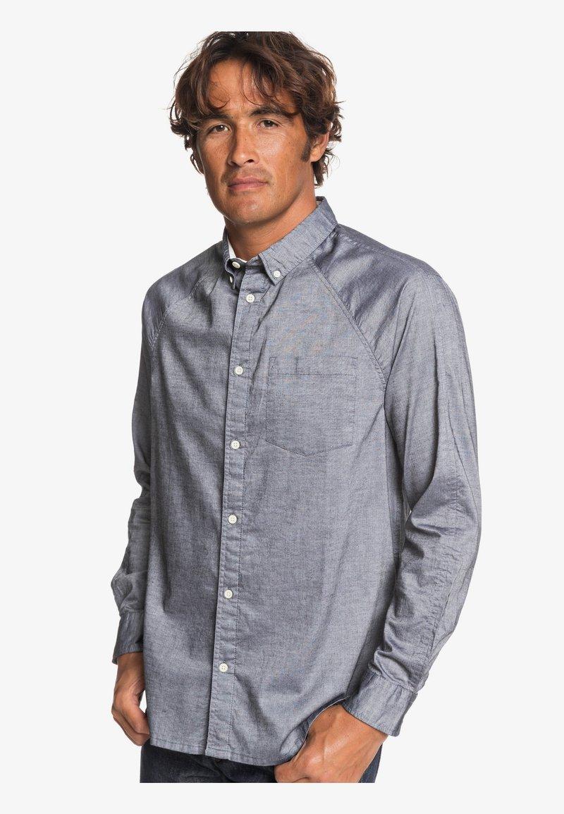 Quiksilver - LONG SLEEVED - Shirt - stone grey