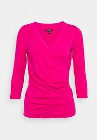 Lauren Ralph Lauren - Top sdlouhým rukávem - nouveau bright pink - 0