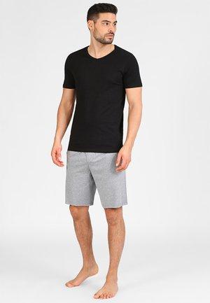 JACBASIC V-NECK TEE 2 PACK  - Unterhemd/-shirt - black