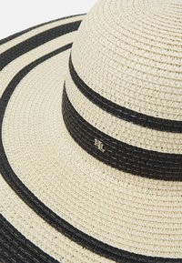 Lauren Ralph Lauren - STRIPE SUNHAT - Hat - natural/black - 4