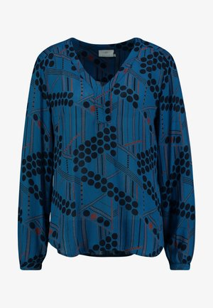 KAMARIA AMBER BLOUSE - Blouse - moroccan blue