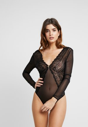 TOUCHES OF LUXE - Body / Bodystockings - jet black