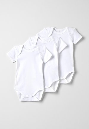 NBNBODY SOLID BABY BASIC 3 PACK - Body - white
