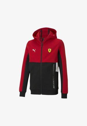 SCUDERIA FERRARI  - Zip-up hoodie - rosso corsa