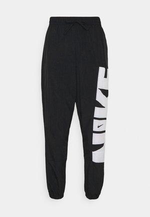 STARTING PANT - Pantalones deportivos - black/white