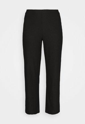 CARKERVE WIDE PANTS - Trousers - black
