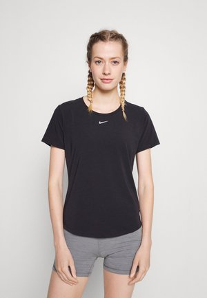 ONE LUXE - T-shirts - black/silver