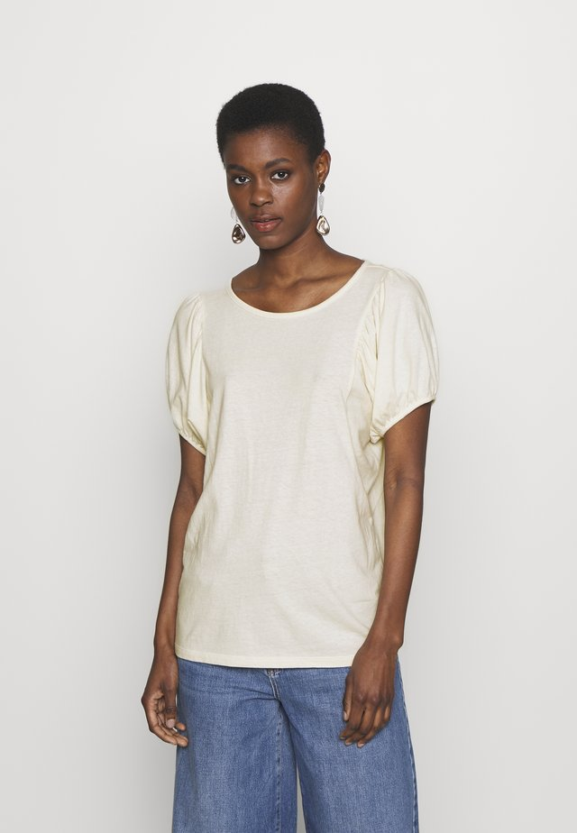 TALL - T-shirt con stampa - ivory frost