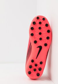 Nike Performance - MERCURIAL 7 ACADEMY AG - Moulded stud football boots - laser crimson/black - 5