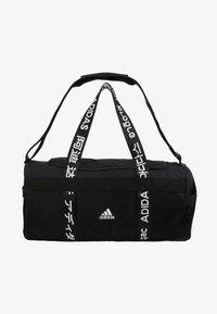 adidas Performance - ESSENTIALS 3 STRIPES SPORT DUFFEL BAG UNISEX - Sports bag - black/white - 6