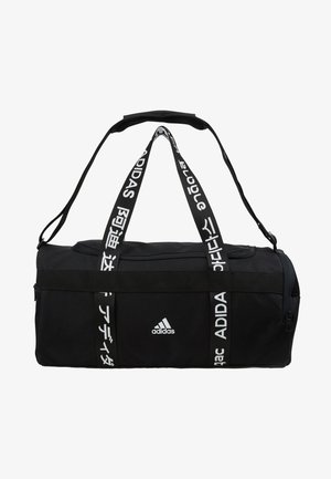 ESSENTIALS 3 STRIPES SPORT DUFFEL BAG UNISEX - Sportväska - black/white