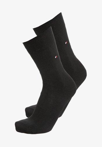 MEN SOCK CLASSIC 2 PACK - Socks - black