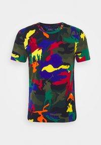 Polo Ralph Lauren - CUSTOM SLIM FIT POLO PONY CAMO T-SHIRT - T-shirt con stampa - spectre player camo - 0