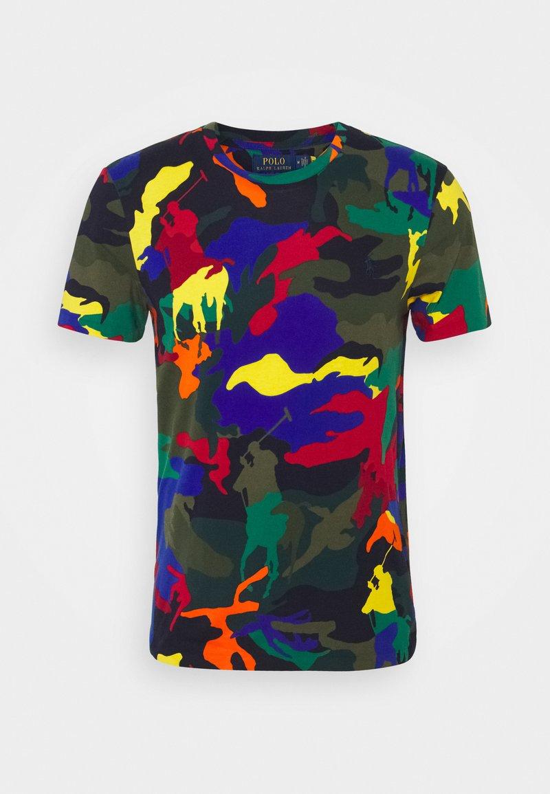 Polo Ralph Lauren - CUSTOM SLIM FIT POLO PONY CAMO T-SHIRT - T-shirt con stampa - spectre player camo