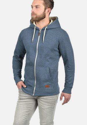 HULKER - Hoodie met rits - ensign blue