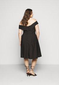 Chi Chi London Curvy - CURVE SEVDA DRESS - Cocktail dress / Party dress - black - 2