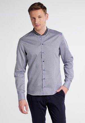 SLIM FIT - Overhemd - navy/white