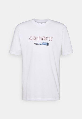 TOOTHPASTE - Print T-shirt - white