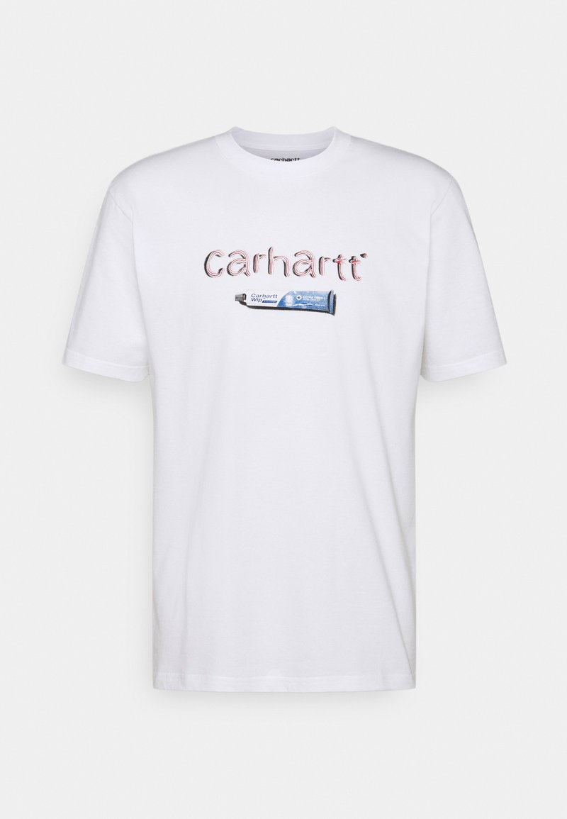 Carhartt WIP - TOOTHPASTE - Printtipaita - white