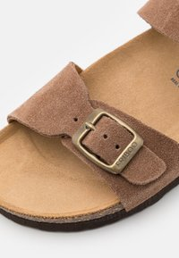 Friboo - LEATHER - Sandals - brown - 5