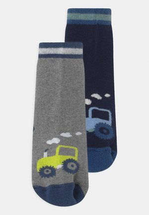 TRACTOR 2 PACK - Socks - dark blue/grey