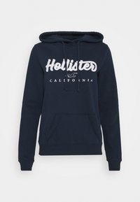 Hollister Co. - TECH CORE - Mikina s kapucí - navy - 4