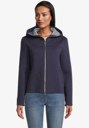 Zip-up sweatshirt - mittelblau