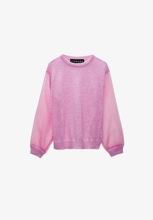 ALPAKA UND ORGANZA  - Jumper - pink