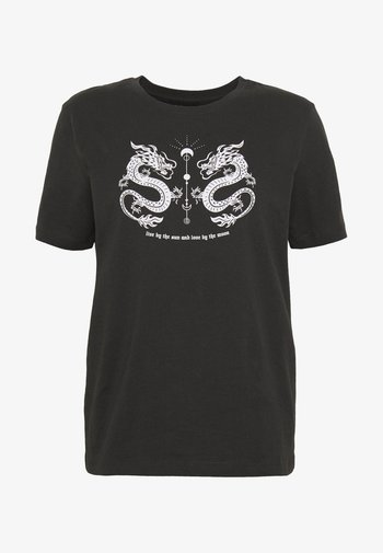 HATTIE MIRRORED DRAGONS TEE
