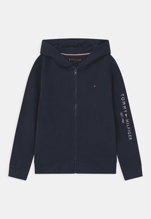 ESSENTIAL HOODED ZIP THROUGH - Collegetakki - twilight navy