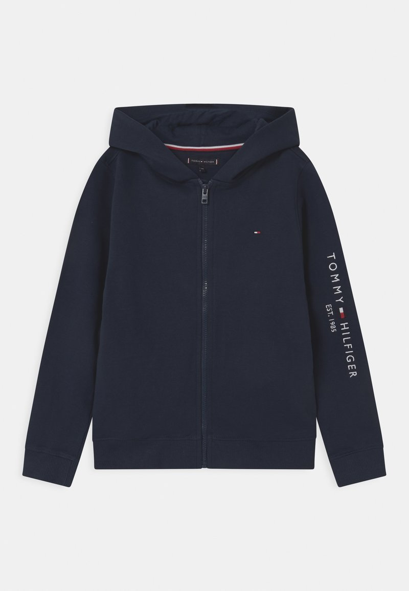 Tommy Hilfiger - ESSENTIAL HOODED ZIP THROUGH - Zip-up hoodie - twilight navy