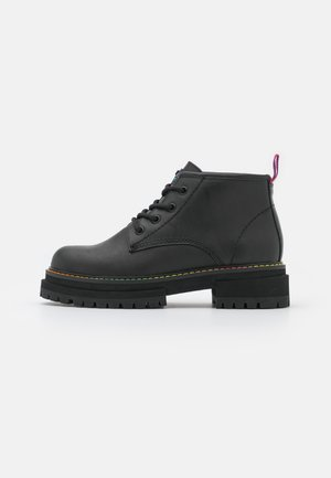 BIRDIE LOW - Lace-up ankle boots - black