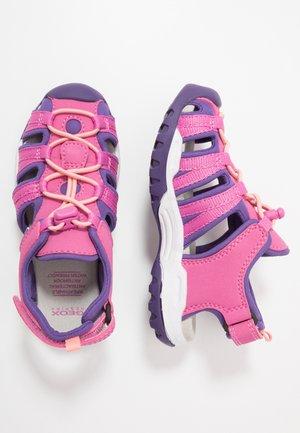 BOREALIS GIRL - Walking sandals - pink