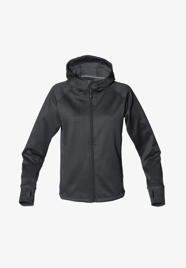 Zip-up sweatshirt - licorice