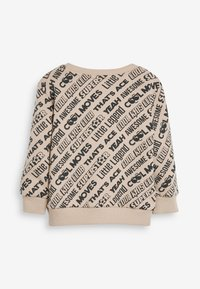 Next - ALL OVER PRINT SLOGAN SET - Sweatshirt - beige - 5