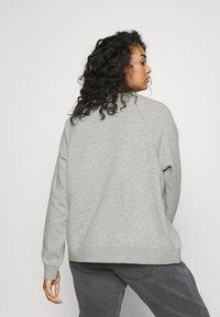 Nike Sportswear - CREW - Sweatshirt - dark grey heather/matte silver - 2